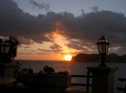 5 Sonnenuntergang bei Hapimag.JPG