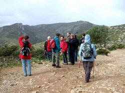 Berit-Aufbruch zur Wanderung La Trapa.JPG