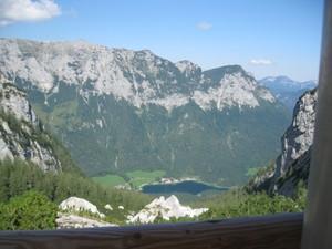 Blick von der Blaueishütte zum Hintersee.JPG