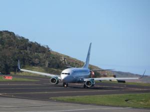 Germania-Flugzeug in Funchal.JPG