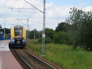 Bahnfahrt nach Wieliczka.JPG
