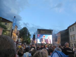 Jüdisches Festival 2017 in Krakau auf der Breiten Straße.JPG