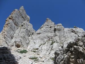 Kletterer an den Cinque Torri.JPG
